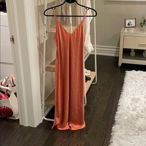 Aritzia Wilfred Only Slip Dress